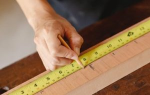 nivellement du plancher en bois